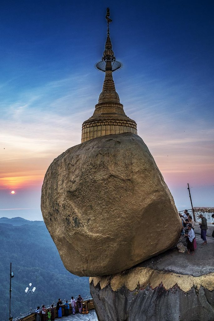 Golden Rock in Myanmar – Die Pilgerstätte Nummer 1 in Burma